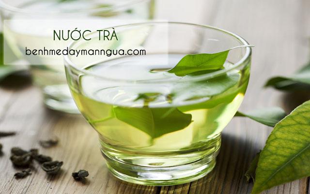Nước trà hỗ trợ chữa bệnh phong ngứa hiệu quả