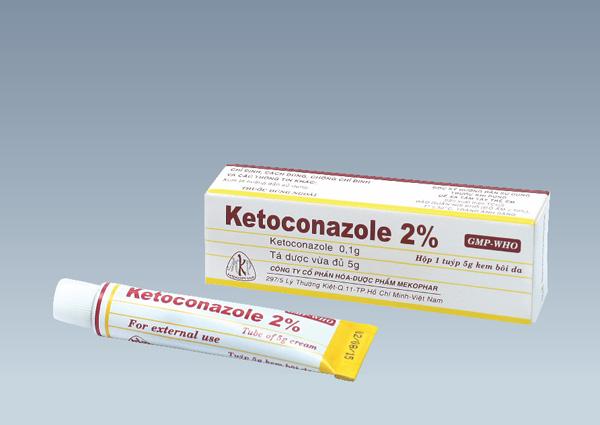 cách trị mẩn ngứa ở mông bằng thuốc ketocozale