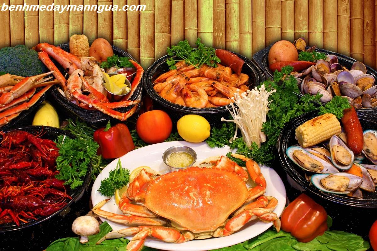 Nguyên nhân gây dị ứng hải sản