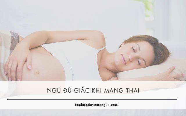 ngủ đủ giấc khi mang thai để phòng ngừa viêm da cơ địa