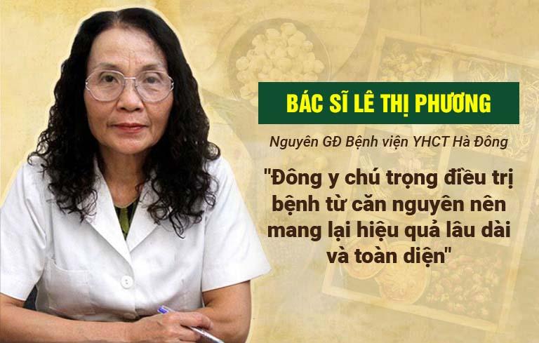 Bác sĩ Lê Thị Phương đánh giá cao hiệu quả bài thuốc Tiêu ban Giải độc thang