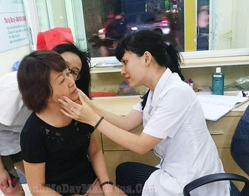 Khám da liễu ở bệnh viện da liễu Hải Phòng