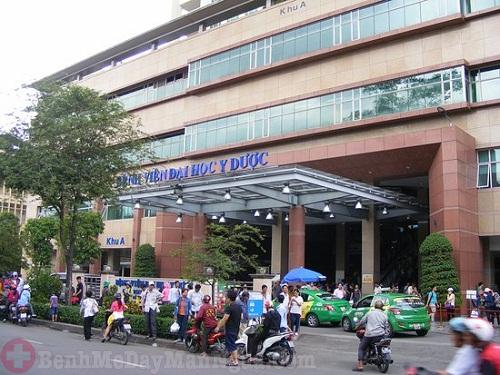 Lịch khám da liễu bệnh viện đại học y dược TPHCM và chi phí khám