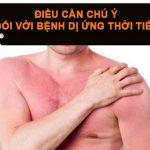 Cách khắc phục khi bị dị ứng thời tiết hanh khô