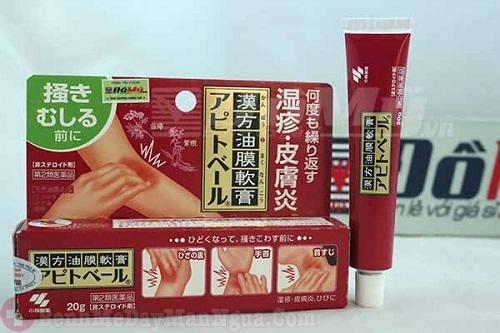 Đánh giá kem trị ngứa da Kobayashi Apitoberu của nhật
