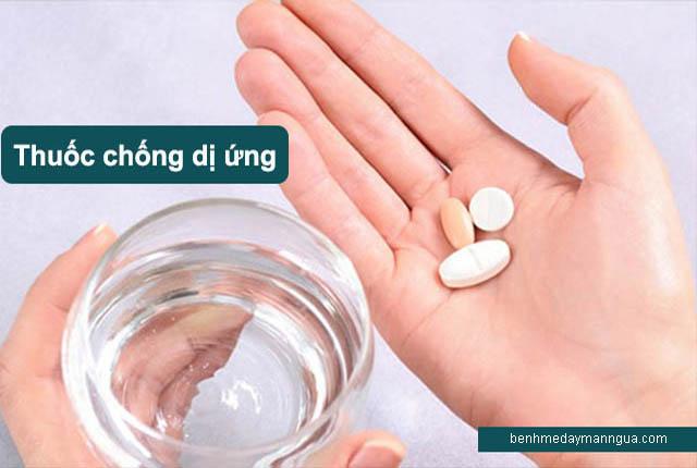 Các loại thuốc Tây chống dị ứng