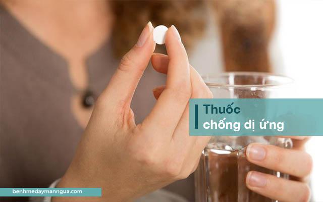 thuốc chống dị ứng, kháng histamine chữa mề đay mẩn ngứa