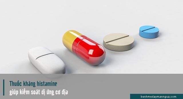 chữa dị ứng cơ địa bằng thuốc kháng histamine