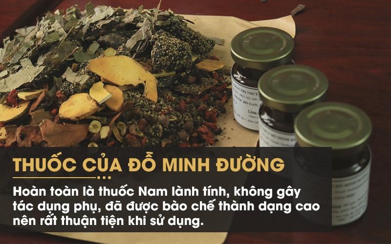 Thoải mái ăn uống, không cần kiêng khem quá mức nhờ bài thuốc chữa mề đay của Đỗ Minh Đường