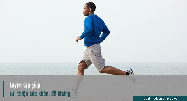 luyện tập có tác dụng tăng cường sức khỏe và cải thiện hệ miễn dịch