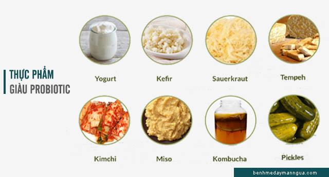 dị ứng cơ địa nên ăn thực phẩm chứa probiotic