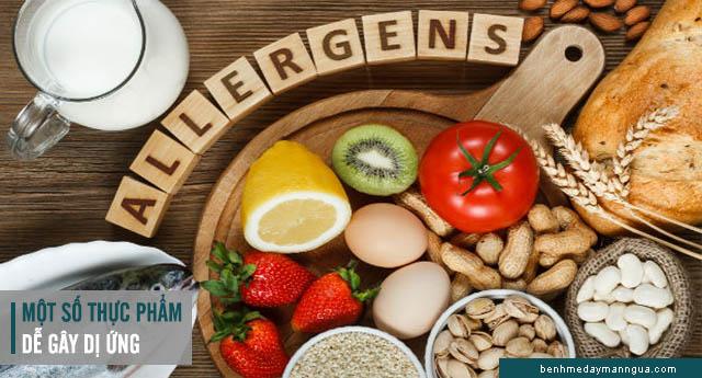 kiêng ăn các loại thực phẩm dễ gây kích ứng dị ứng