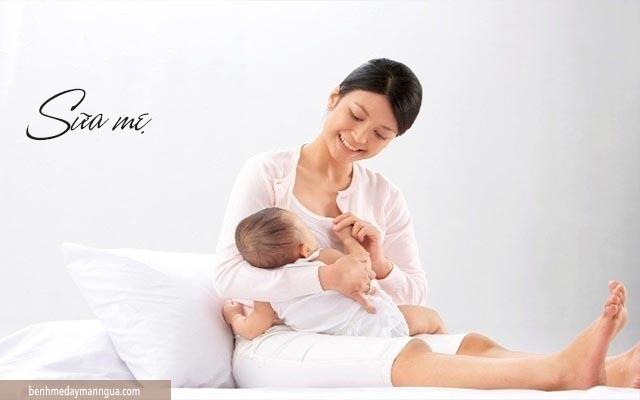 dị ứng sữa mẹ