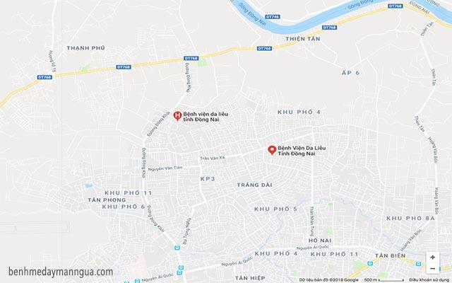 bệnh viện da liễu biên hòa Đồng Nai