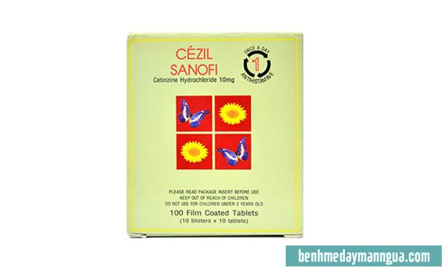 Thuốc dị ứng Cezil