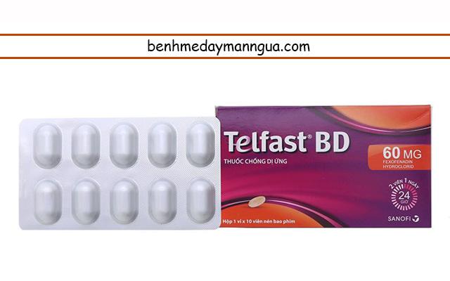 Thuốc dị ứng Telfast BD 60mg