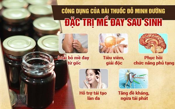 Công dụng toàn diện của bài thuốc chữa mề đay sau sinh dòng họ Đỗ Minh