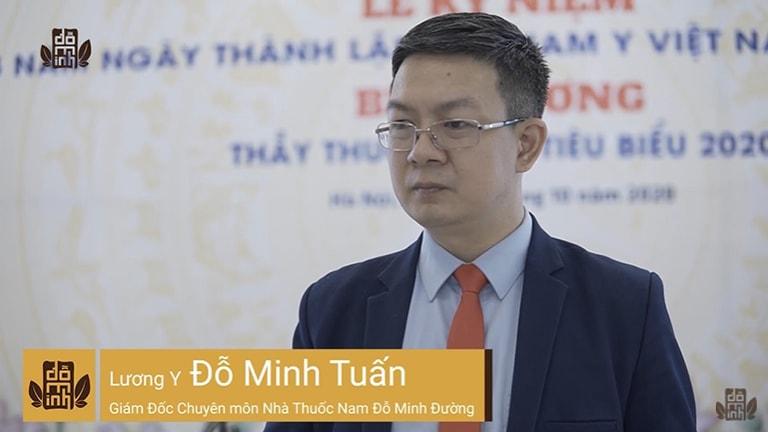 Lương y Đỗ Minh Tuấn nhận giải thưởng Thầy thuốc nam tiêu biểu năm 2020